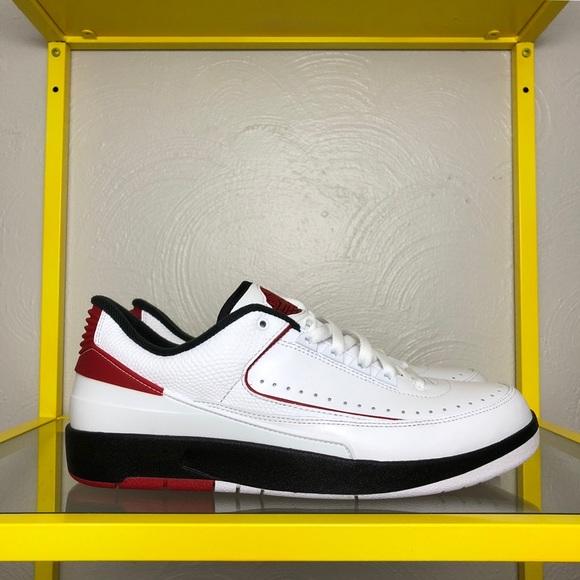 san francisco 7b598 57512 Air Jordan 2 Retro Low Chicago Shoes Mens 10.5 NEW
